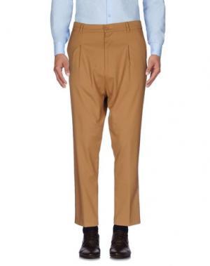 Повседневные брюки IMB I'M BRIAN. Цвет: верблюжий