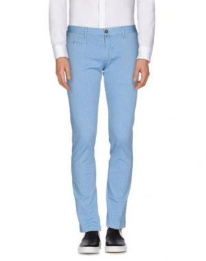 Повседневные брюки VERDERA. Цвет: небесно-голубой