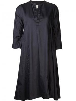 Платье до колена Dosa. Цвет: чёрный