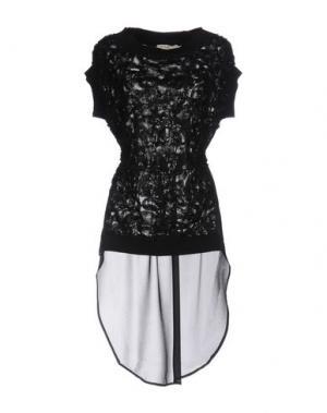 Блузка SONIA FORTUNA. Цвет: черный