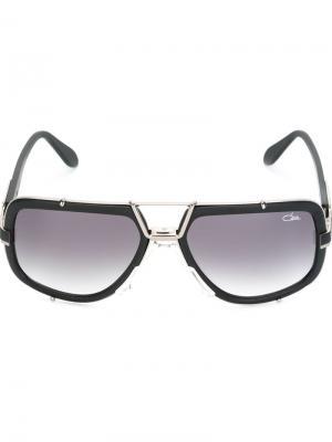 Солнцезащитные очки Vintage 656 Cazal. Цвет: чёрный
