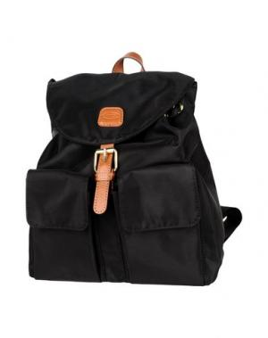 Рюкзаки и сумки на пояс BRIC'S. Цвет: черный