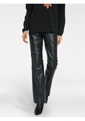 Кожаные брюки RICK CARDONA by Heine. Цвет: черный