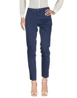 Повседневные брюки PEUTEREY. Цвет: темно-синий