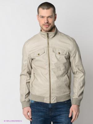 Куртка TOM FARR. Цвет: светло-серый