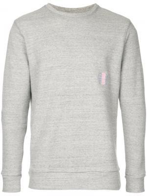 Crew neck sweatshirt Jupe By Jackie. Цвет: серый