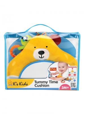 Время для животика Бобби K'S Kids. Цвет: голубой, желтый