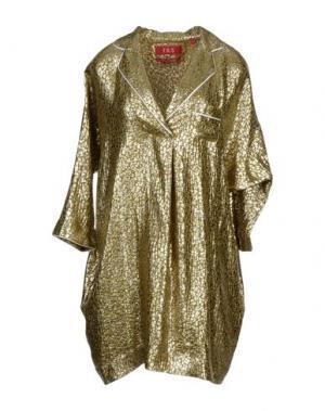 Блузка F.R.S.. Цвет: золотистый