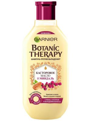 Шампунь Botanic Therapy, Касторовое масло и миндаль, 400 мл Garnier. Цвет: белый