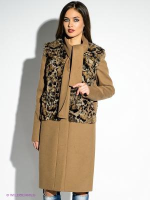 Пальто Just Cavalli. Цвет: коричневый