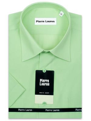 Рубашка Pierre Lauren. Цвет: салатовый