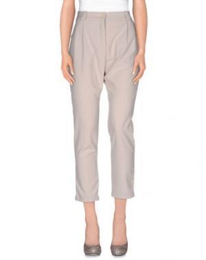 Повседневные брюки SOUVENIR. Цвет: светло-серый