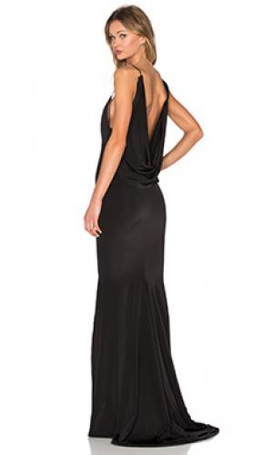 Платье evgeni Gemeli Power. Цвет: черный