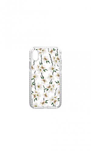 Чехол для телефона Casetify. Цвет: белый