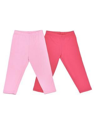 Комплект капри, 2 шт МИКИТА. Цвет: бледно-розовый, коралловый