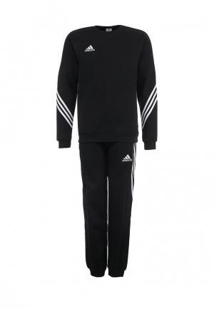 Костюм спортивный adidas Performance. Цвет: черный