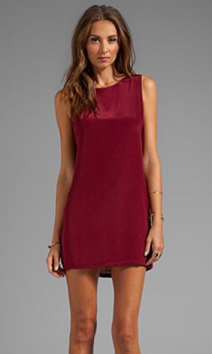 Платье twiggy Naven. Цвет: вишня