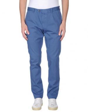 Повседневные брюки VERDERA. Цвет: ярко-синий