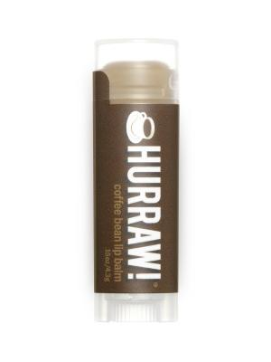 Бальзам для губ Hurraw! Coffee Bean Lip Balm. Цвет: коричневый