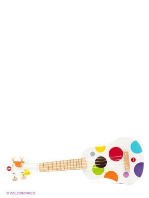 Гавайская гитара (дерево) Janod. Цвет: белый