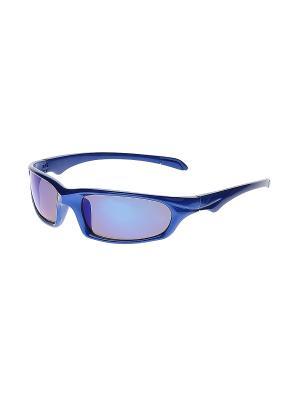 Очки солнцезащитные Infiniti. Цвет: синий