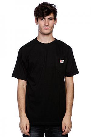 Футболка  Viva Patch Pocket Black Cliche. Цвет: черный