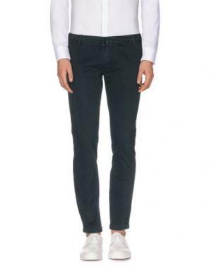 Повседневные брюки GABARDINE. Цвет: зеленый