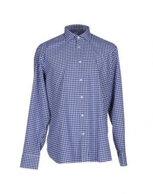 Pубашка DANOLIS. Цвет: ярко-синий