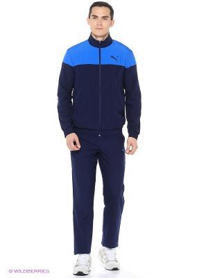 Костюм спортивный  ACTIVE GOOD Woven Suit, op Puma. Цвет: синий