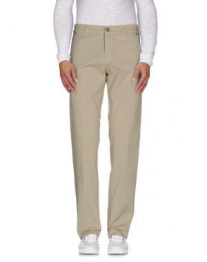 Повседневные брюки JOHNNY LAMBS. Цвет: бежевый