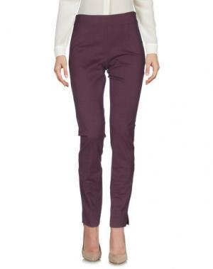 Повседневные брюки SIMONA MARTINI. Цвет: розовато-лиловый