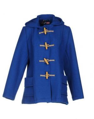 Пальто GLOVERALL. Цвет: синий