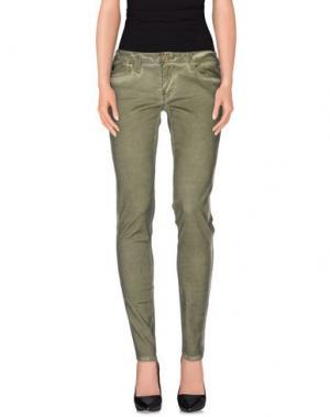 Повседневные брюки LE TEMPS DES CERISES. Цвет: зеленый-милитари
