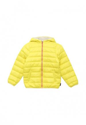 Куртка утепленная Chicco. Цвет: желтый