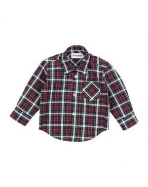 Pубашка DIRK BIKKEMBERGS. Цвет: темно-синий