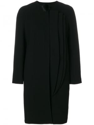 Пальто без воротника  LAutre Chose L'Autre. Цвет: чёрный