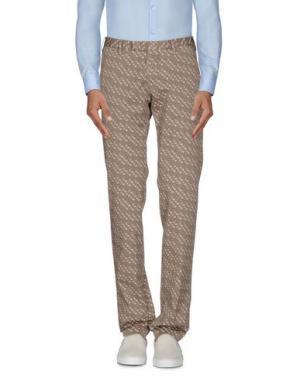 Повседневные брюки GERMANO. Цвет: светло-коричневый