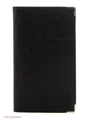 Визитница трехрядная на 120 визиток Centrum. Цвет: черный