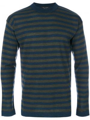 Джемпер в полоску Marc Jacobs. Цвет: синий