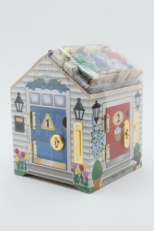 Дом с замками (звук.) Melissa & Doug. Цвет: мультиколор