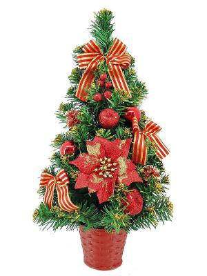 Хвойное украшение Mister Christmas. Цвет: зеленый