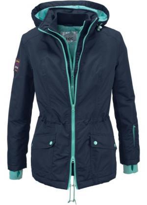 Функциональная куртка (темно-синий) bonprix. Цвет: темно-синий