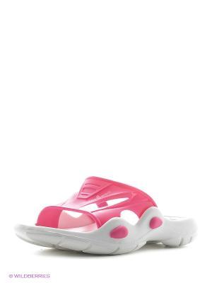 Детские тапочки Flipper Mad Wave. Цвет: розовый, белый