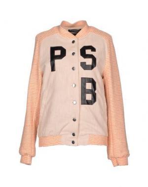 Куртка PHONZ SAYS BLACK. Цвет: лососево-розовый