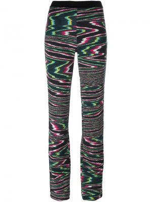 Расклешенные брюки с эластичным поясом Missoni. Цвет: многоцветный