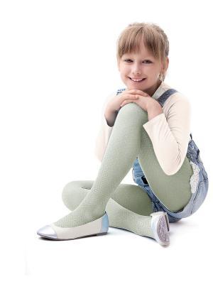 Колготки для девочки Knittex Mini. Цвет: серый