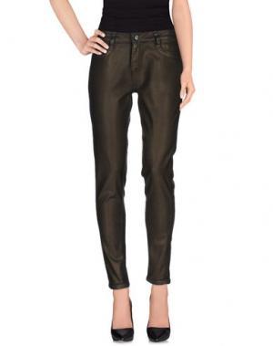 Джинсовые брюки BLEULAB. Цвет: бронзовый