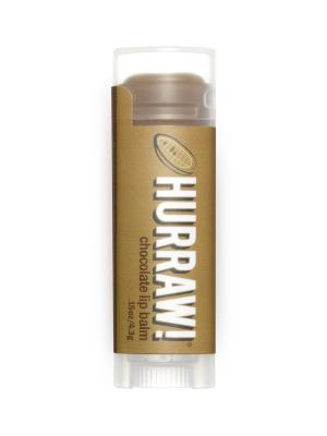 Бальзам для губ Hurraw! Chocolate Lip Balm. Цвет: светло-коричневый