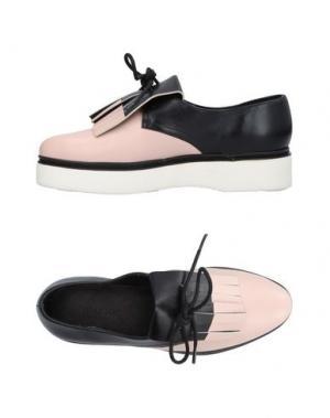 Обувь на шнурках WHAT FOR. Цвет: телесный