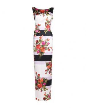 Длинное платье IVAN MONTESI. Цвет: белый